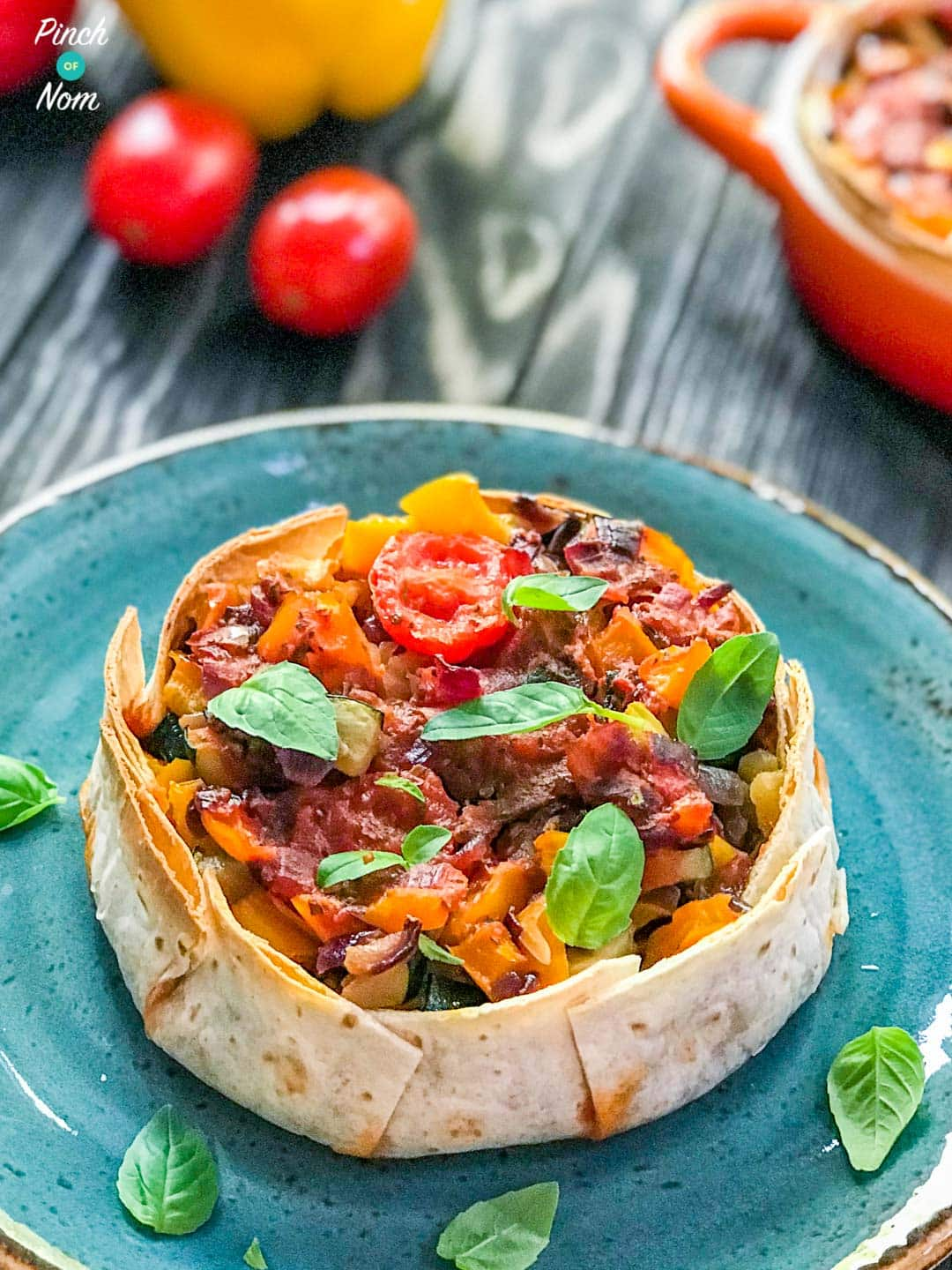 Vegetable Tarts | Slimming & Weight Watchers Friendly