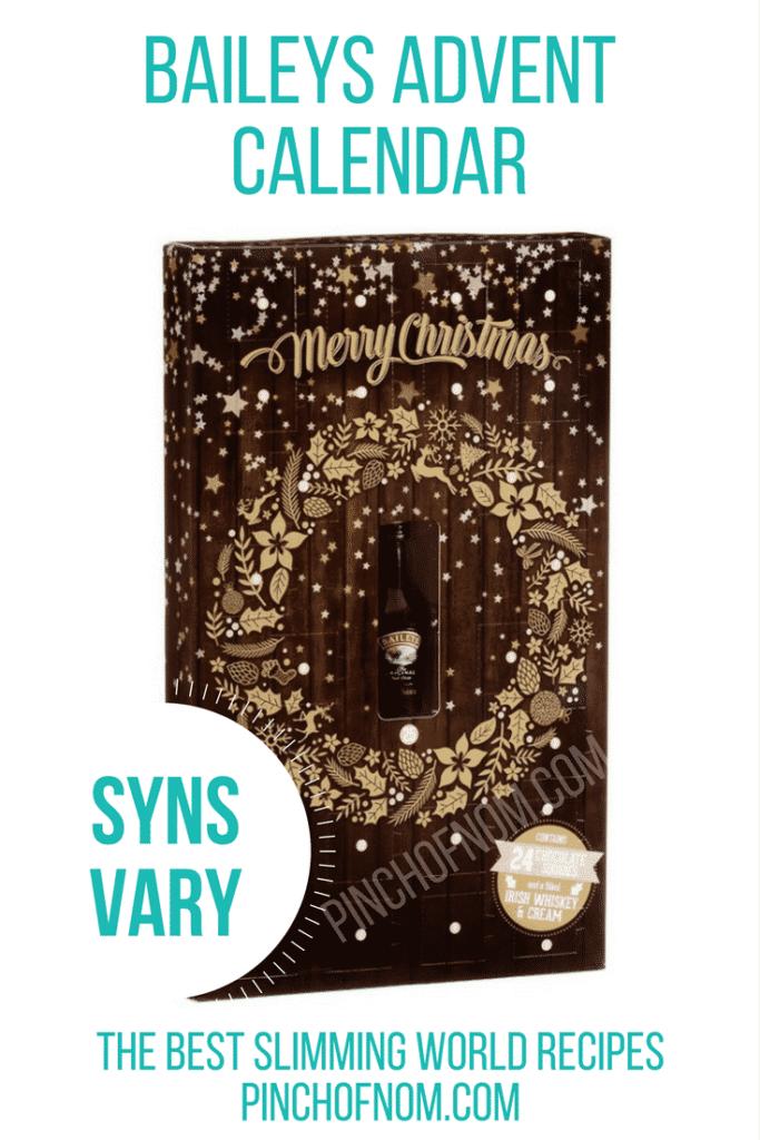 baileys advent calendar 10 Slimming World Friendly Advent Calendars