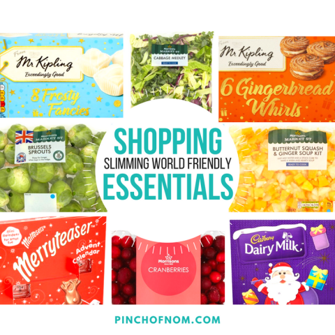 featured image - New Slimming World Shopping Essentials 10:11:17