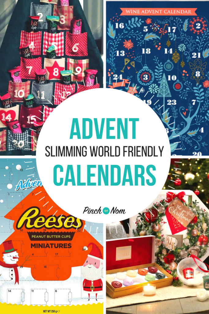 first image 10 Slimming World Friendly Advent Calendars
