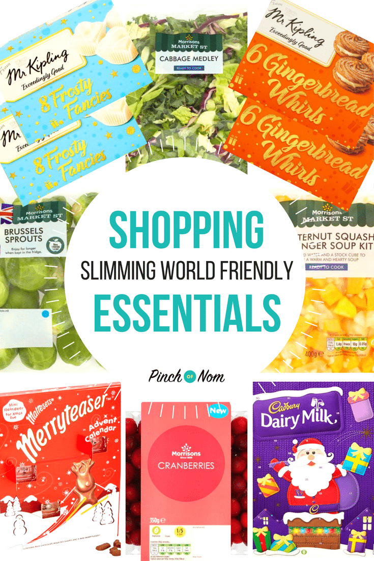 New Slimming World Shopping Essentials 10:11:17