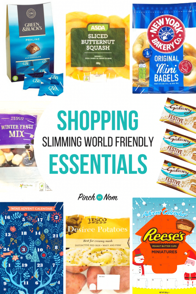 first image - New Slimming World Shopping Essentials 3-11-17