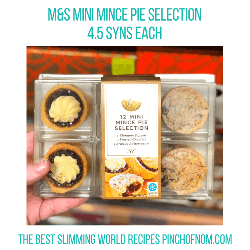 mini mince pies - Pinch of Nom Slimming World Shopping Essentials