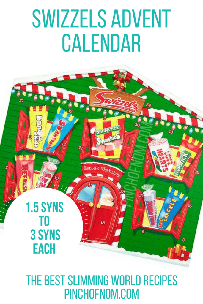 swizzels 10 Slimming World Friendly Advent Calendars