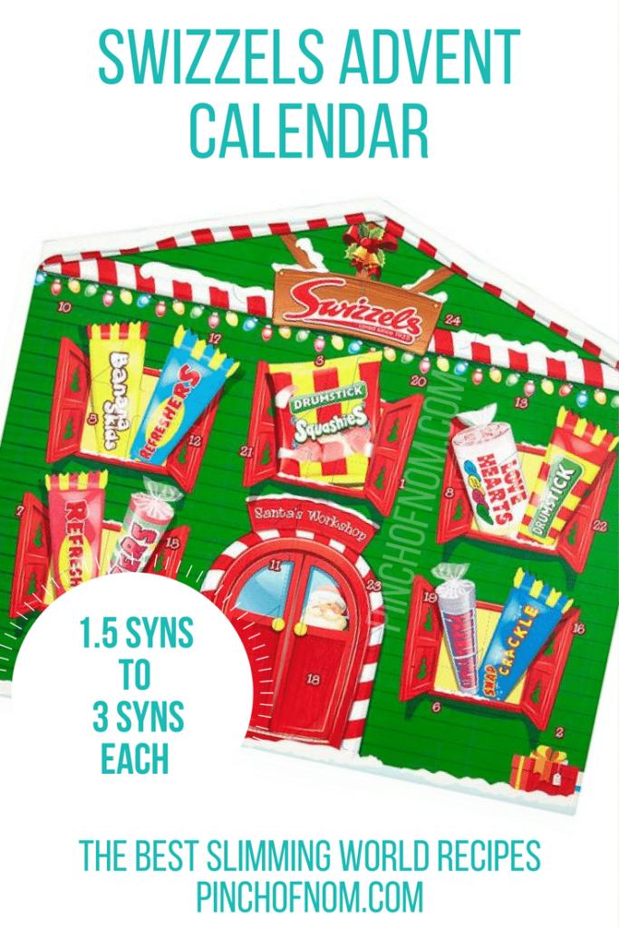swizzels 10 Slimming World Friendly Advent Calendars