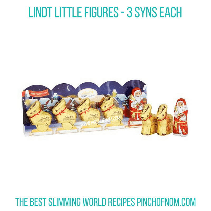 Lindt little figures - Pinch of Nom Slimming World Shopping Essentials