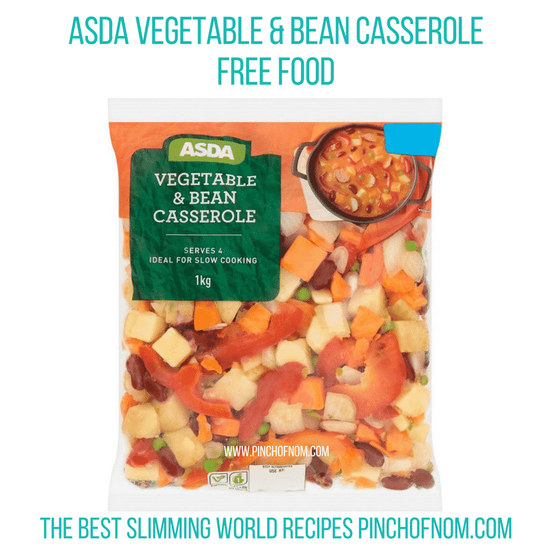 Vegetable and Bean Casserole - Pinch of Nom Slimming World Shopping Essentials