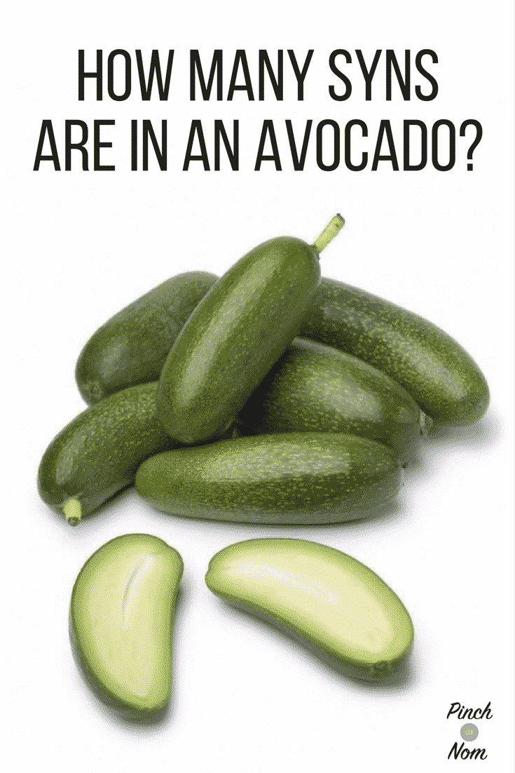 How many Syns are in an Avocado? | Slimming World