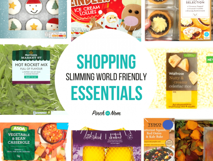 New Slimming World Shopping Essentials 15:12:17