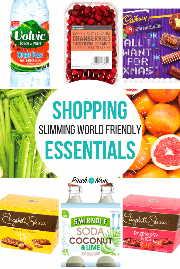 New Slimming World Shopping Essentials 8:12:17