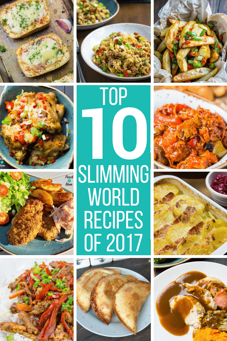Our Top Ten Slimming World Recipes Of 2017 Pinch Of Nom