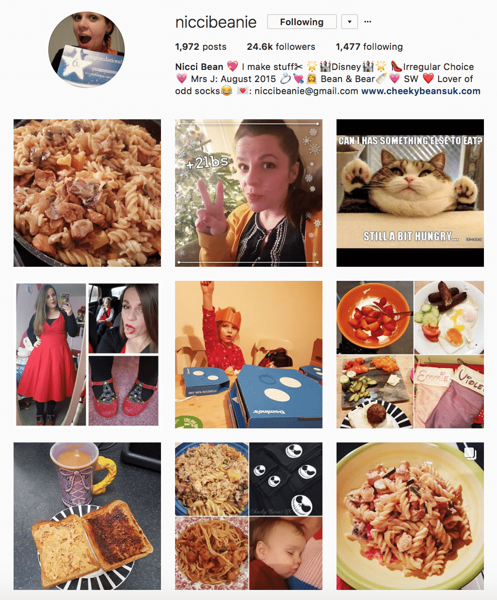 Our top slimming world instagram accounts a pinch of motivation follow this link to get to the niccibeanie instagram account forumfinder Gallery