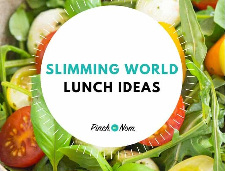 7 day slimming world meal plan syn free extra easy pinch of nom Slimming world meal ideas