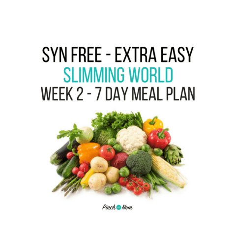 Syn Free Week 2 – 7 Day Slimming World Meal Plan