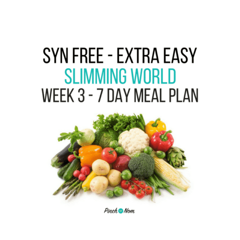 Syn Free Week 3 – 7 Day Slimming World Meal Plan
