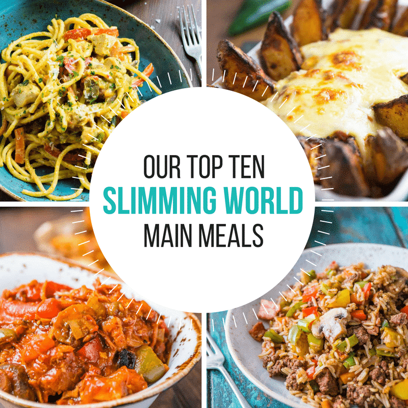 Top Ten Slimming World Evening Meals - Pinch Of Nom