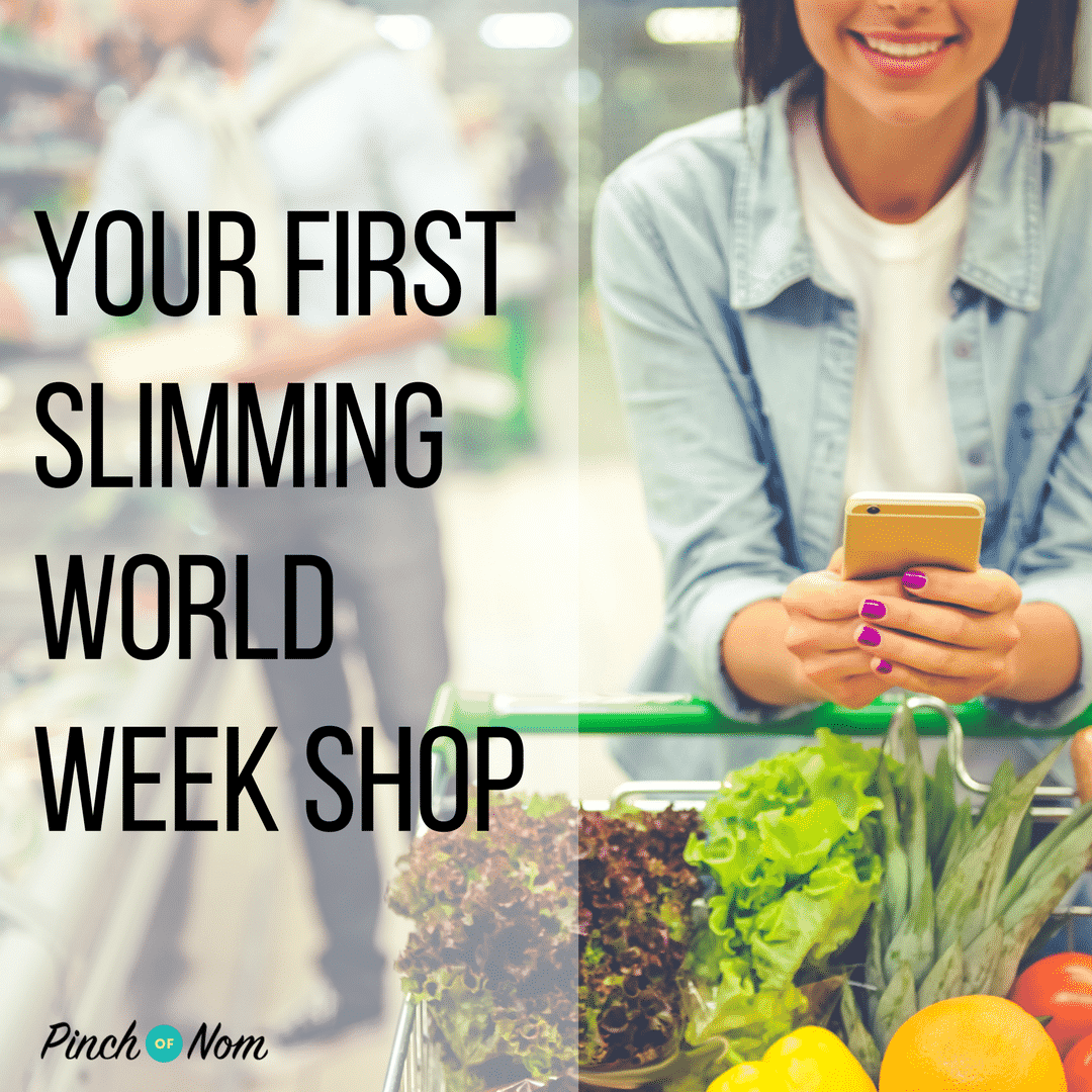 Your First Slimming World Week Shop Slimming World