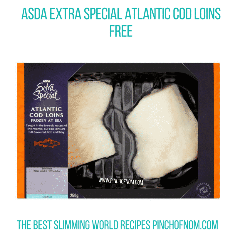 Asda Cod Loin Pinch of Nom Slimming World Shopping Essentials