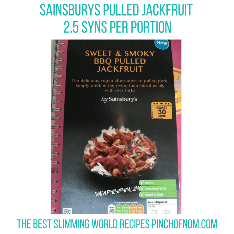 Pulled Jackfruit - Pinch of Nom Slimming World Shopping Essentials