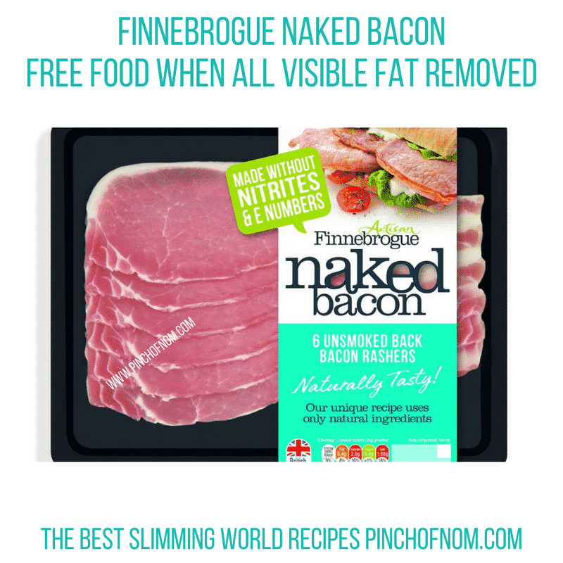 Finnebrogue Naked Bacon - Pinch of Nom Slimming World Shopping Essentials