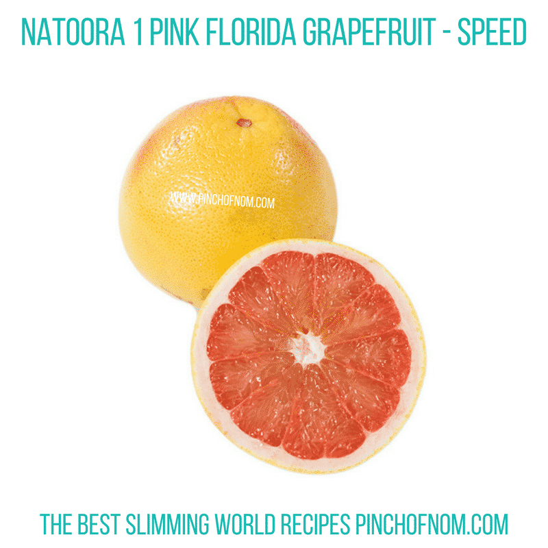 Natoora 1 Pink Grapefruit - Pinch of Nom Slimming World Shopping Essentials