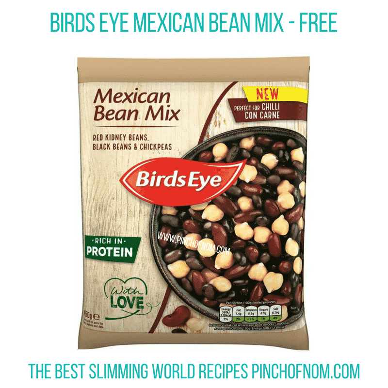 Mexican Bean Mix - Pinch of Nom Slimming World Shopping Essentials