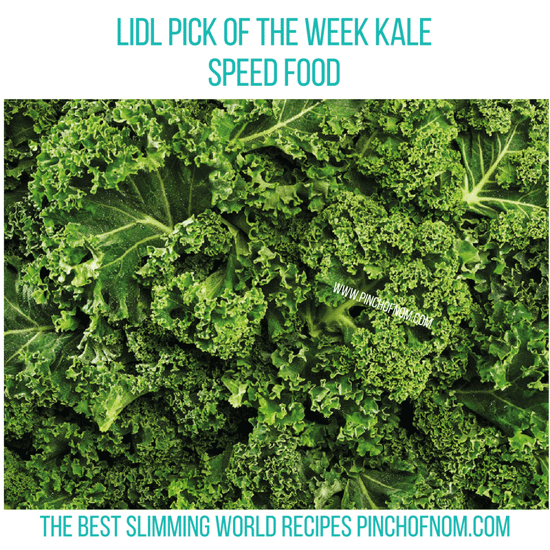 Lidl Curly Kale - Pinch of Nom Slimming World Shopping Essentials