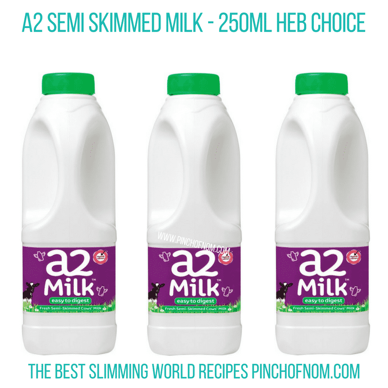 a2 milk - Pinch of Nom Slimming World Shopping Essentials