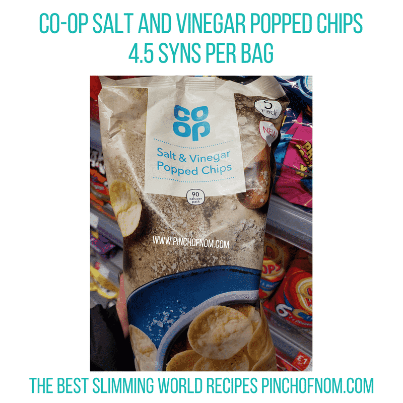 Co-op Popped Chips - Pinch of Nom Slimming World Shopping Essentials