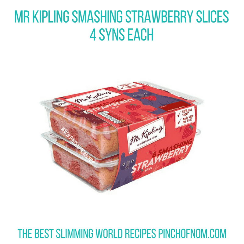 Mr Kipling Strawb - Pinch of Nom Slimming World Shopping Essentials