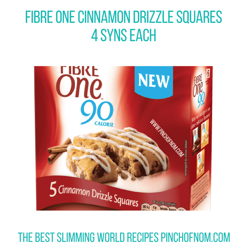 Fibre One Cinnamon - Pinch of Nom Slimming World Shopping Essentials
