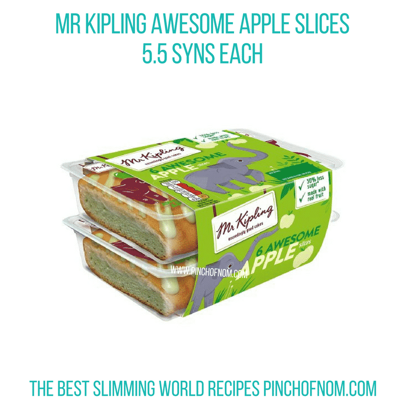 Mr Kipling Apple - Pinch of Nom Slimming World Shopping Essentials