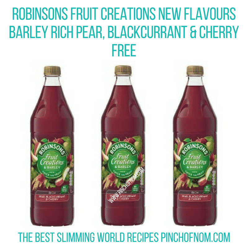 Robinsons fruit creations - Pinch of nom Slimming World Shopping Essentials