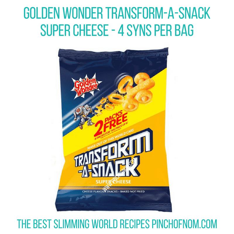 Transform snack - Pinch of Nom Slimming World Shopping Essentials