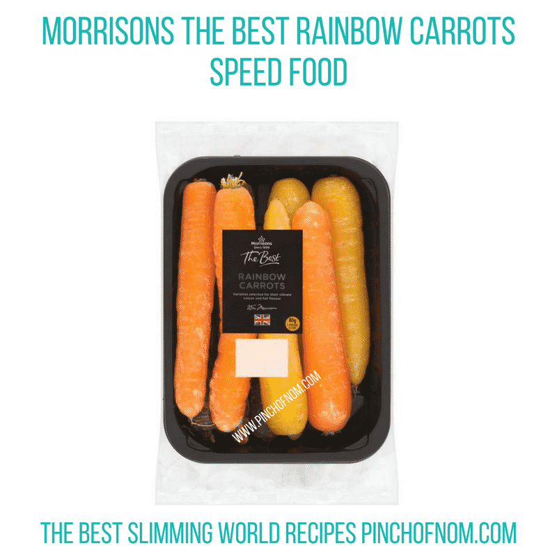 Rainbow Carrots - Pinch of Nom Slimming World Shopping Essentials