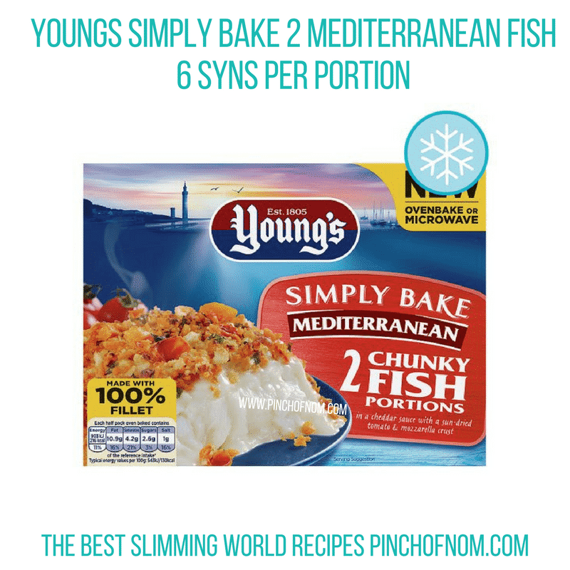Young's Mediterranean Fish - Pinch of Nom Slimming World Shopping Essentials