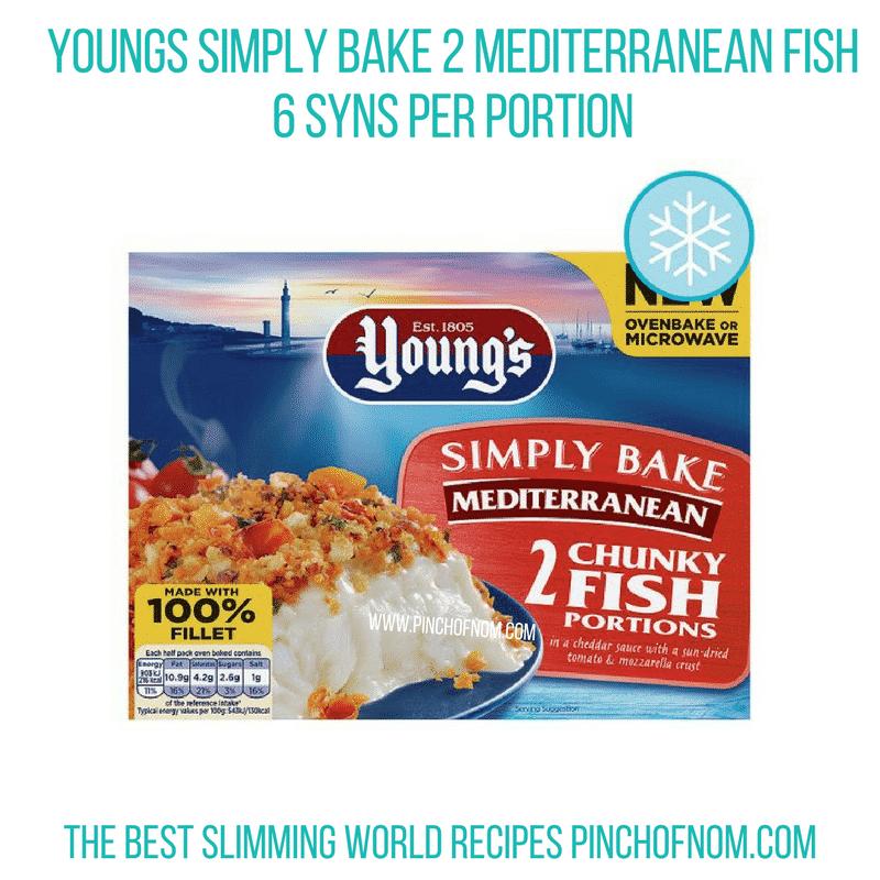 Young's Mediterranean Fish - Pinch of Nom Slimming World Shopping Essentials