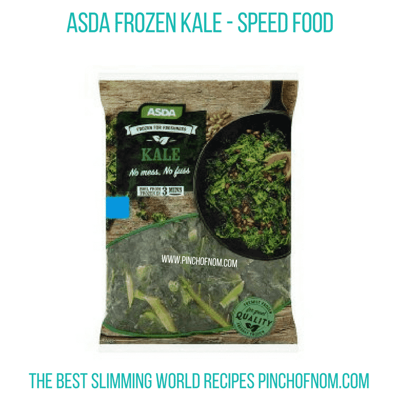 Asda Frozen Kale - Pinch of Nom Slimming World Shopping Essentials