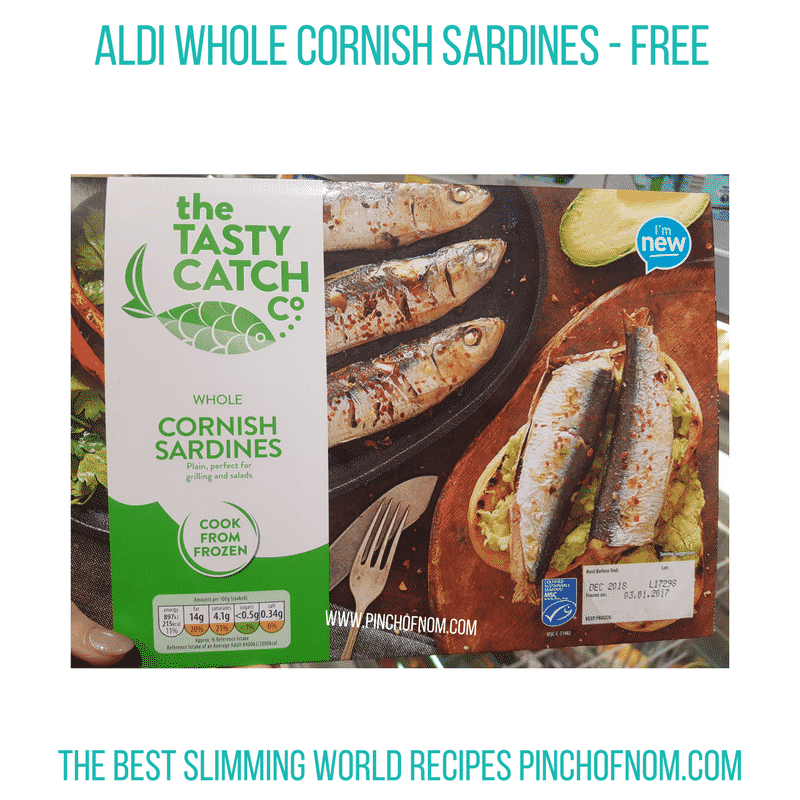 Cornish Sardines - Pinch of Nom Slimming World Shopping Essentials