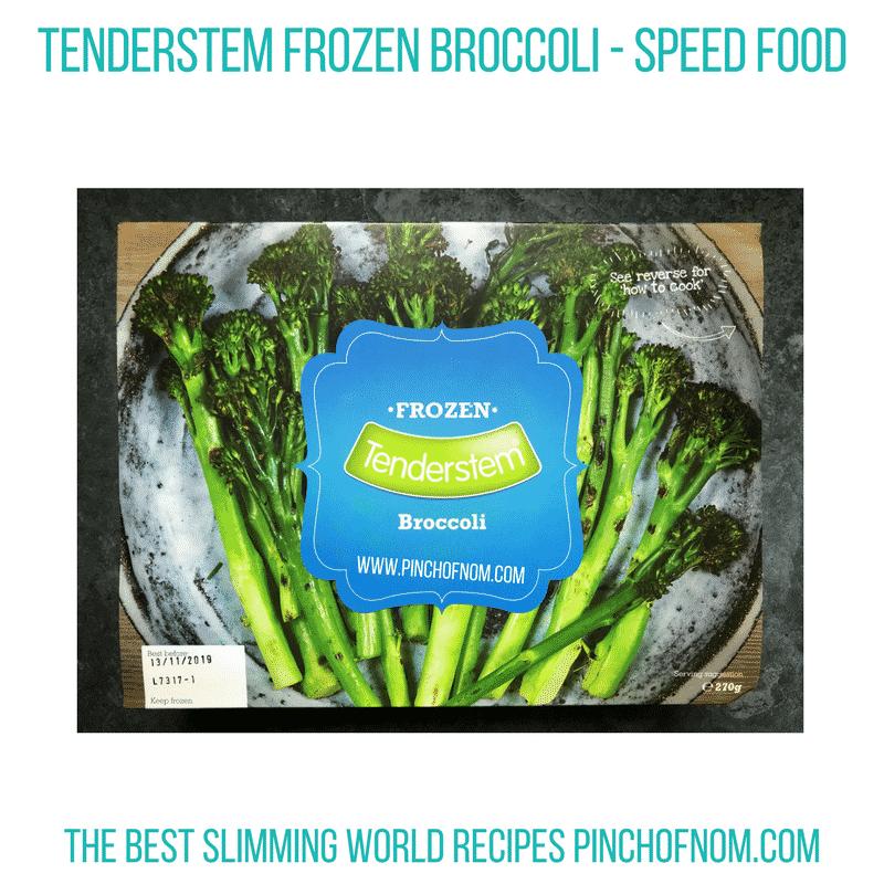 Tenderstem frozen broccoli - pinch of nom Slimming World Shopping Essentials