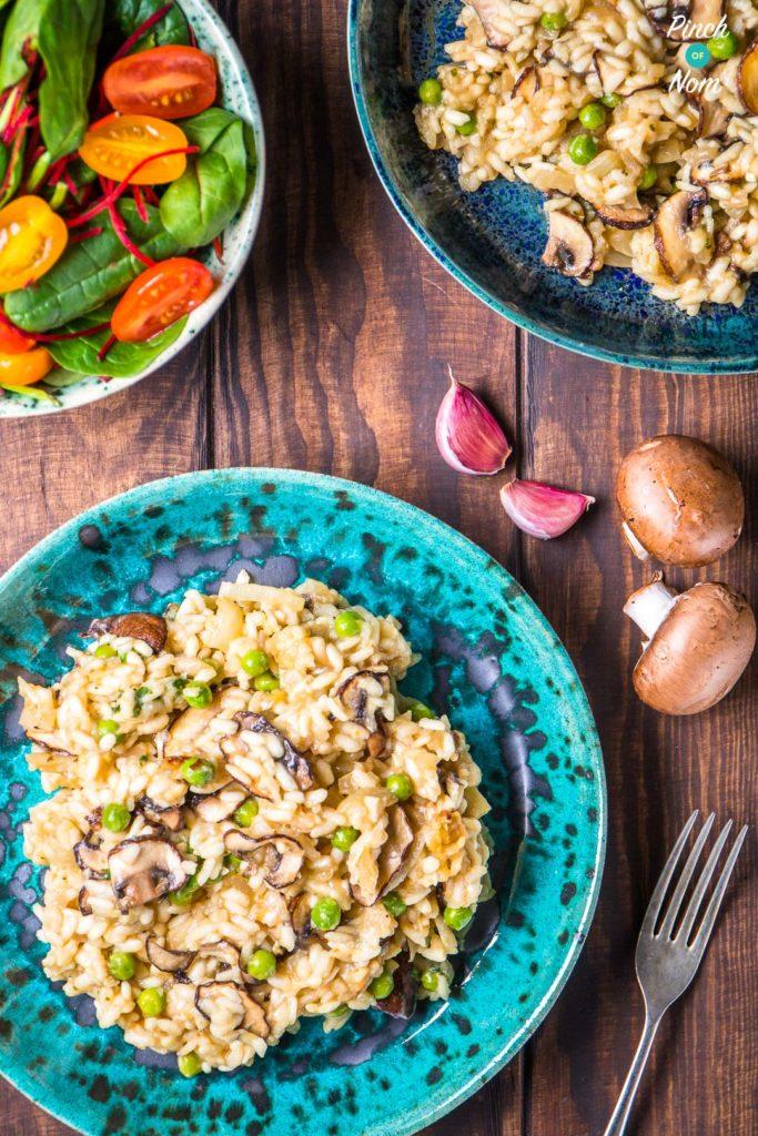 Garlic Mushroom Risotto | Slimming & Weight Watchers Friendly