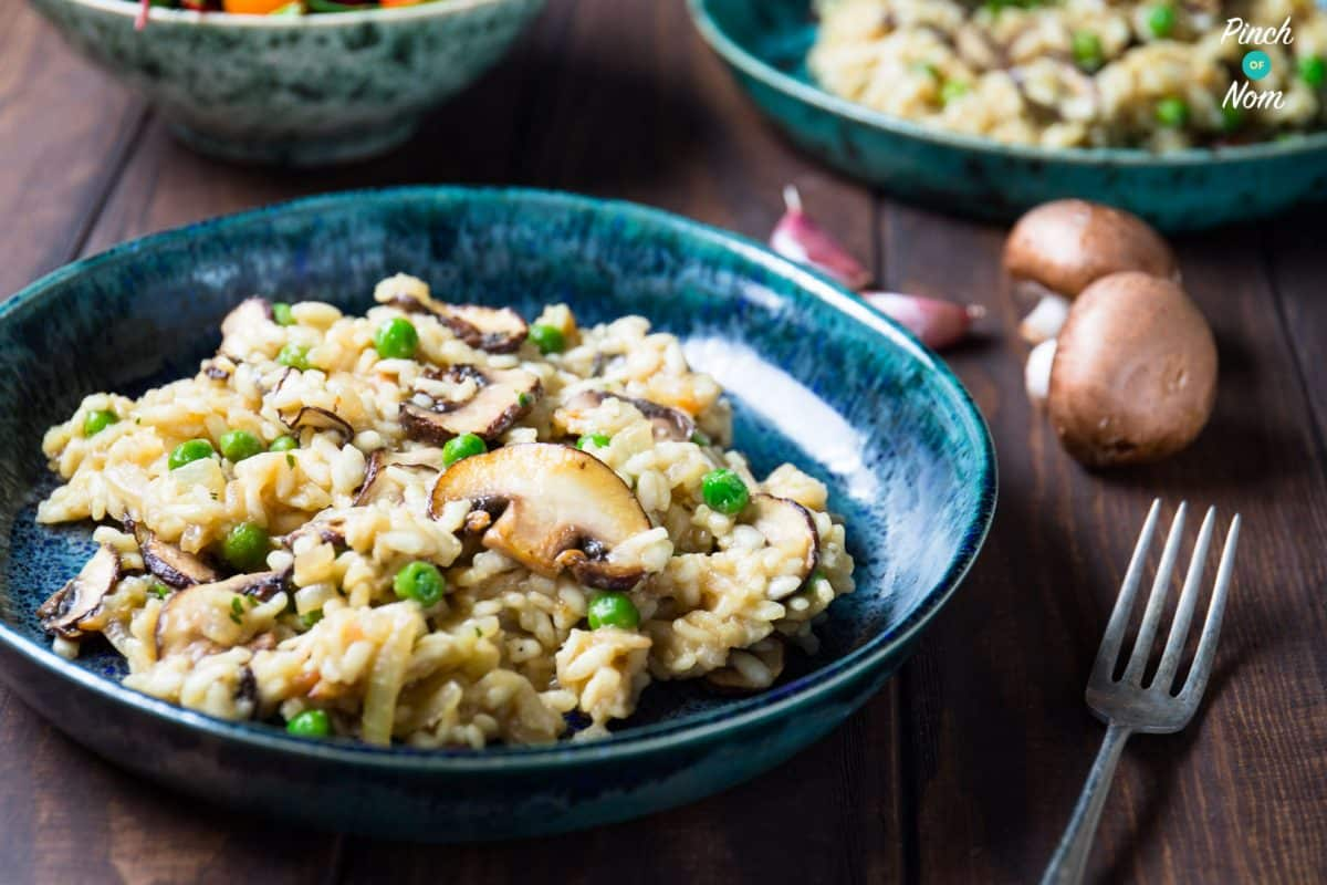 Syn Free Garlic Mushroom Risotto | Slimming World - Pinch ...