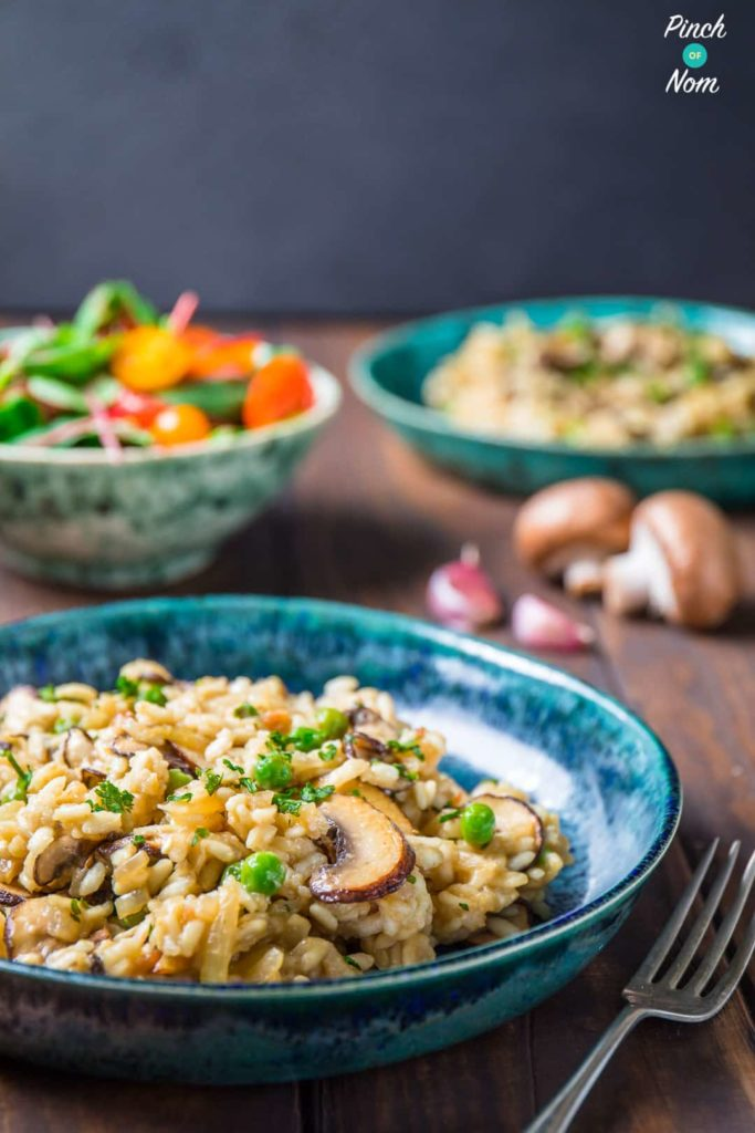 Syn Free Garlic Mushroom Risotto | Slimming World