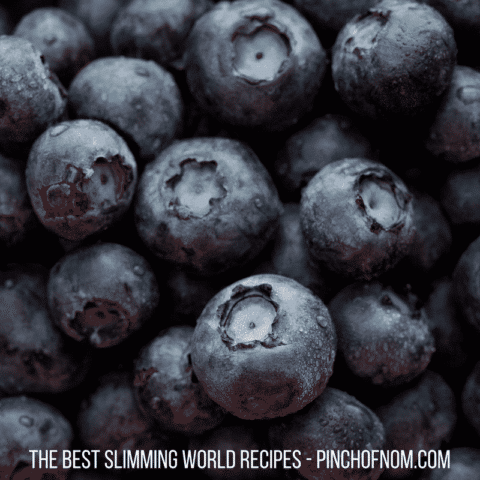 Blueberries are now speed - slimming world