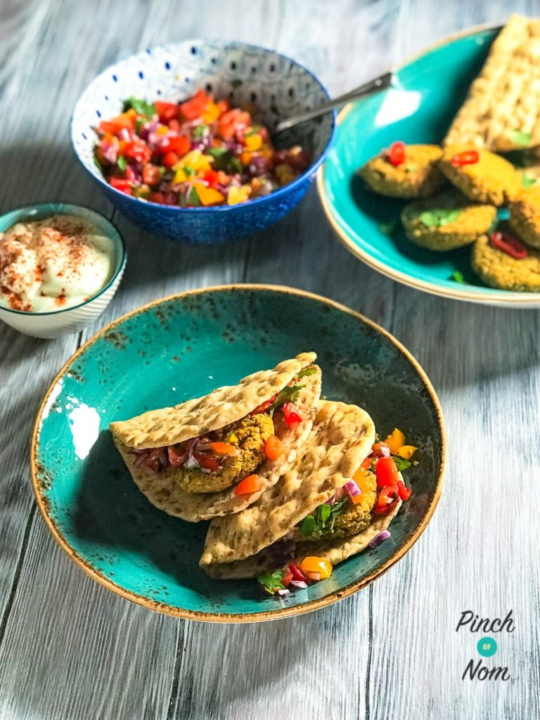 Falafel Burgers | Slimming & Weight Watchers Friendly