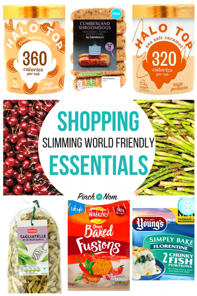New slimming world shopping essentials 19 1 18 pinch of nom Where can i buy slimming world products