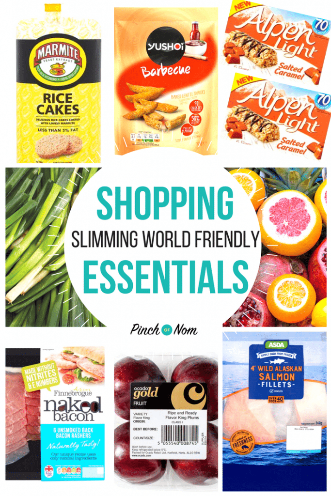 New Slimming World Shopping Essentials 26 1 18 Pinch Of Nom