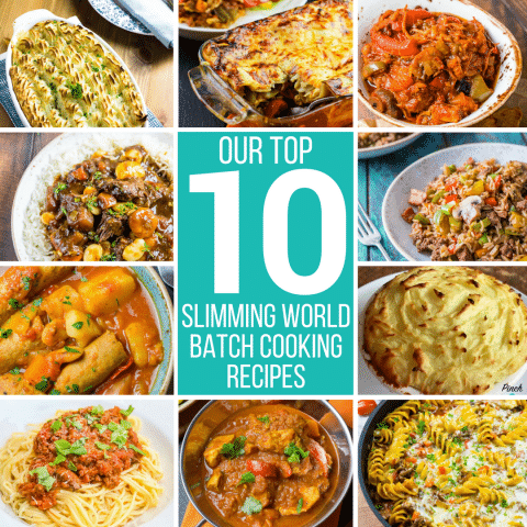 Our Top 10 Batch Cooking Recipes | Slimming World