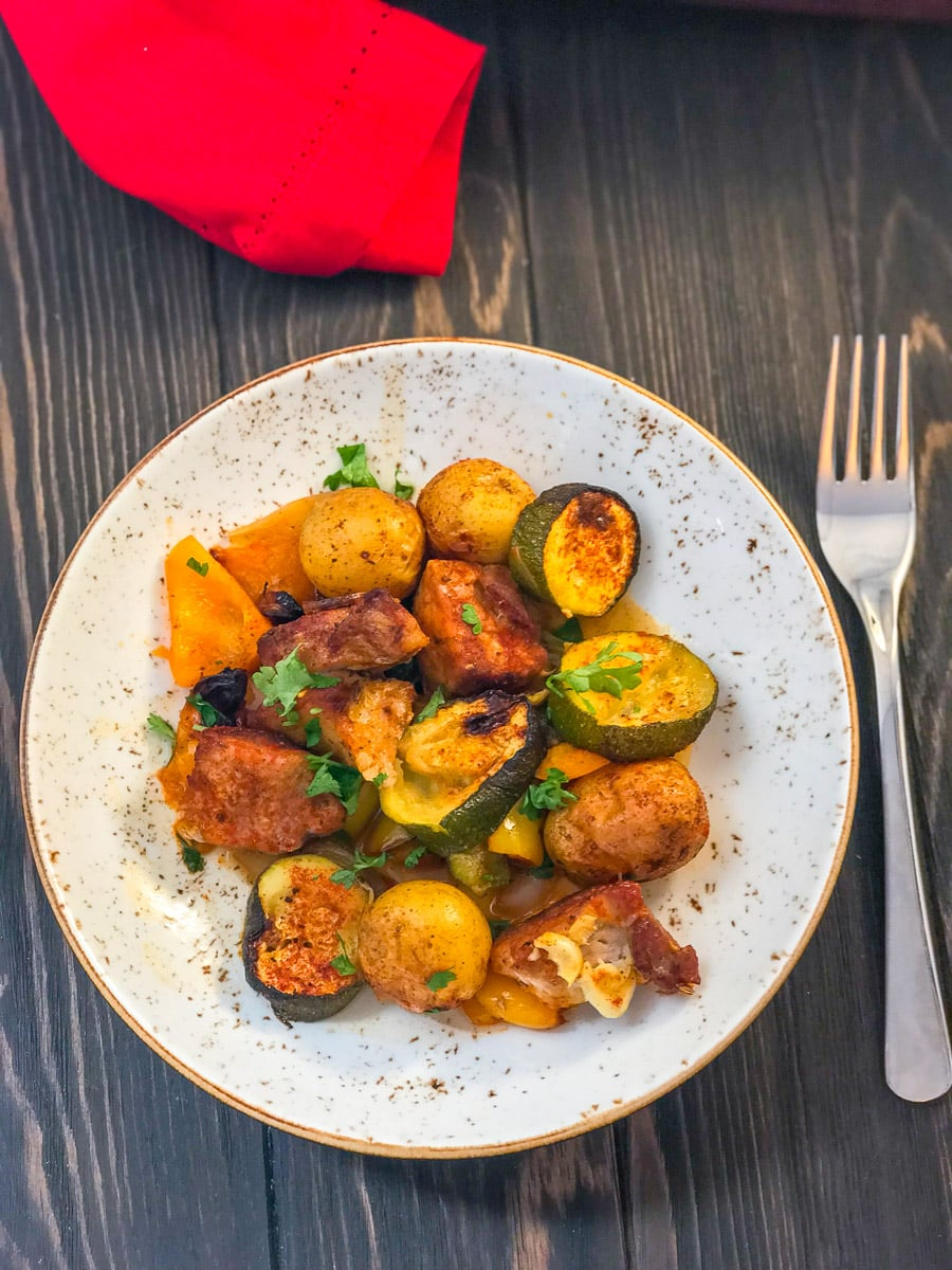 Pork and Potato Bake | Slimming & Weight Watchers Friendly