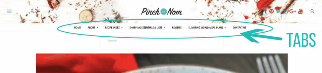Using the Pinch of Nom Website | Slimming World